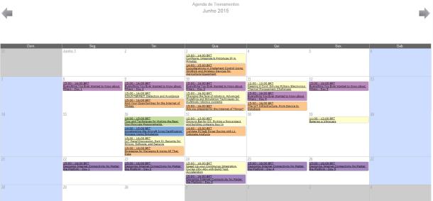 Agenda Junho 2015