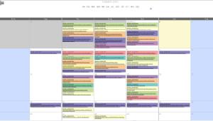 Calendario Setembro 2015