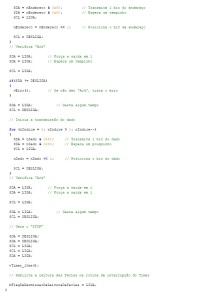 Rotina em C para escrita na E2PROM - segunda parte