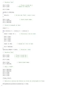 Rotina em C para leitura de uma E2PROM - parte 3