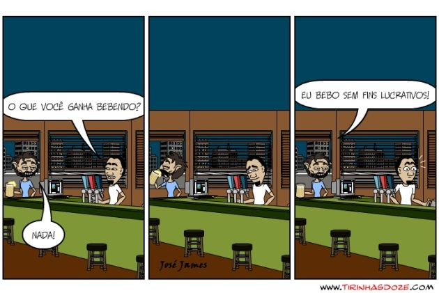 Bar do Jimmy - Lucro